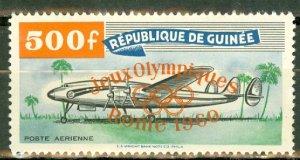 P: Guinea C26 MNH orange overprint CV $45