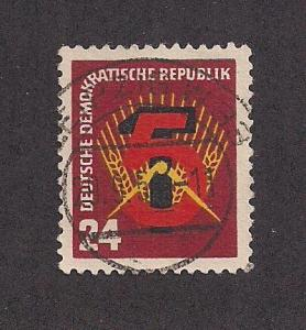 GERMANY - DDR SC# 89 VF U 1951