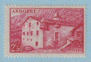 ANDORRA 90 MINT  HINGED OG * NO FAULTS VERY FINE!