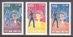 Vietnam (South) - Scott #239-241 - MNH - SCV $4.80