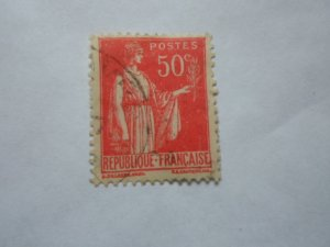 FRANCE STAMP USED VG CON. SC# 267