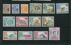 Cyprus #168-82 Mint