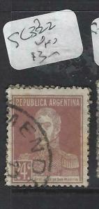 ARGENTINA (P1204B)  24C  SC 322   VFU