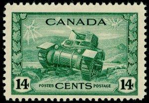 CANADA SG385, 14c dull green, NH MINT. Cat £29.