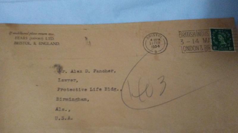 Muscat 1956 Green Postage Revenue 1 1/2d, Queen Victoria