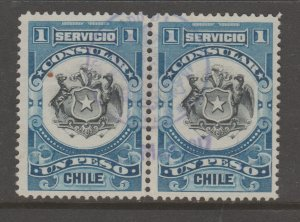 Chile revenue fiscal stamp- TNX 5-31-83