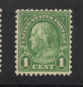 US#632 Green - Unused - O.G. - N.H.