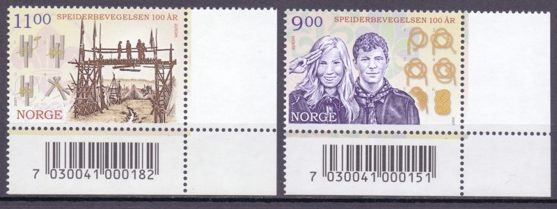 Norway. 2007. 1619-20. EUROPA-CEPT. MNH.