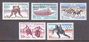 Senegal - Scott #202-206 - MH - SCV $4.05