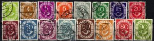Germany #670-85  F-VF Used CV $37.70 (X2670)
