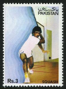 Pakistan 605, MNH. Jehangir Khan, World Squash Champion, 1984
