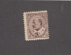 CANADA # 93 FVF-MH KEV11 10cts CAT VALUE $200