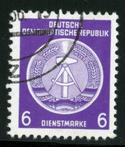 GERMANY DDR #O2 , USED - 1954 - DDR113