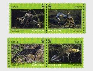 2010  ESTONIA  -  SG. 628 / 631  -  NEWTS  -  UNMOUNTED MINT
