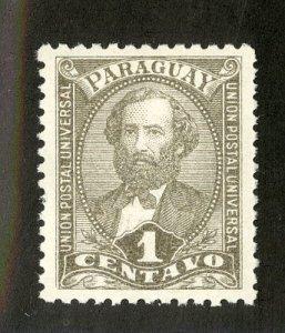 PARAGUAY 33 MH BIN $.25