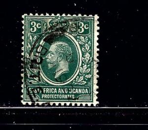 East Africa and Uganda 41 MH 1912 issue