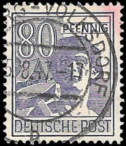 GERMANY 1947 SC# 572 - USED - NICE ALBUM SPACE FILLER