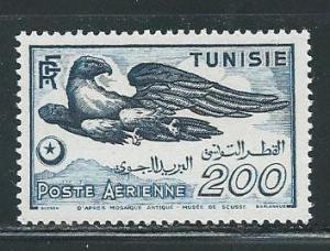Tunisia C14 1949 Bird NH