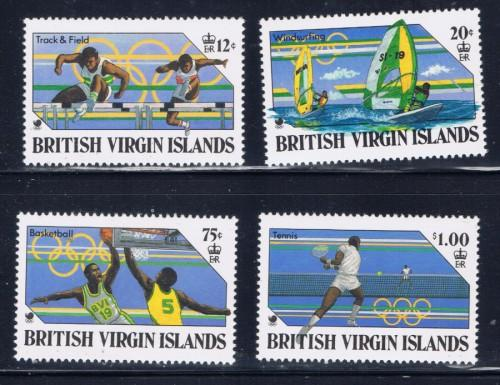 Virgin Is 608-11 NH 1988 Olympics