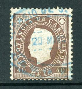 CAPE VERDE #19  great early issue, nice cv$10++++