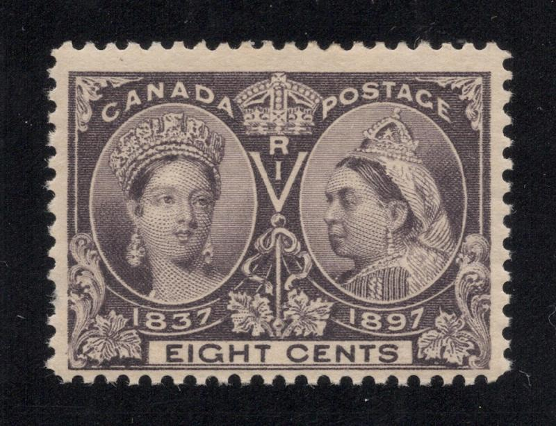 Canada #56 Dark Violet - Unused - O.G.