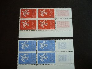 Europa 1961 - France - Set in Blocks