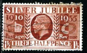 GREAT BRITAIN - SC #228 - USED - 1935 - Item GB182NS3