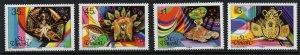 ST.VINCENT SG788/91 1984 CARNIVAL COSTUMES MNH