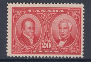 Canada Sc 148 MLH. 1927 20c Baldwin & Lafontaine, F-VF