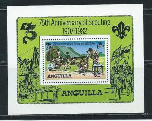 Anguilla 506 1982 Scouting Year s.s. MNH