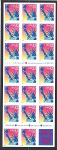 3122a Mint,OG,NH... Booklet Pane... SCV $14.00