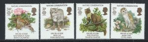 GREAT BRITAIN SC# 1141-4 VF MNH 1986
