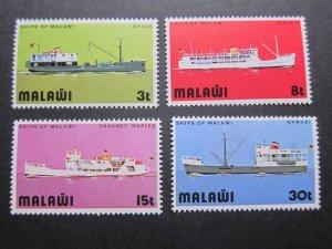 Malawi 1975 Sc 251-254 set MNH