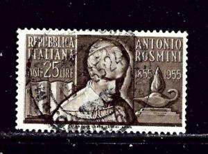 Italy 694 Used 1955 issue