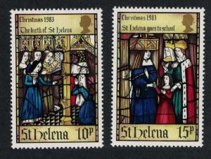 St. Helena Christmas. Life of St. Helena 2v SG#423-424 SC#398ab