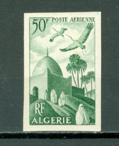 ALGERIE AIR IMPERF. C8...MINT VERY LIGHT H..