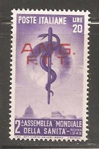 Italy Trieste SC 49 Mint, Never Hinged