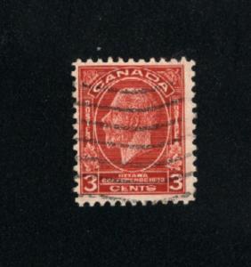 Canada #192  -1  used     PD