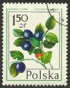 Poland 1977 Scott# 2202 CTO ( writing on reverse)