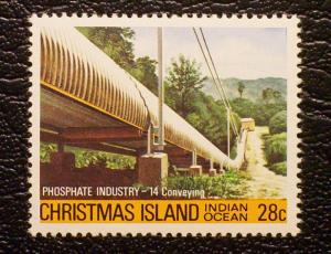 Christmas Island Scott #108 unused