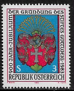 Austria #1239 MNH Stamp - Gottweig Monastery - 40% Cat.