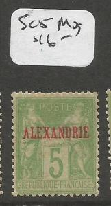 French Alexandria SC 5 MOG (2cpp)