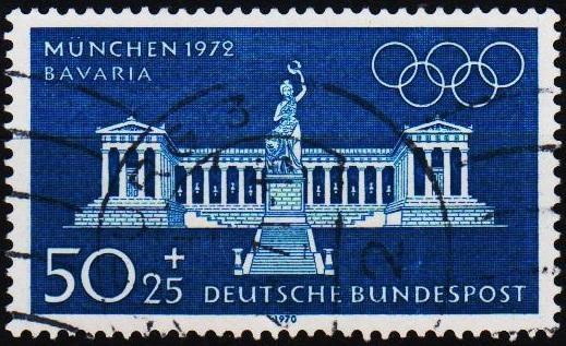 Germany. 1970 50p+25pf S.G.1527 Fine Used