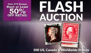Flash Stamp Auction #50