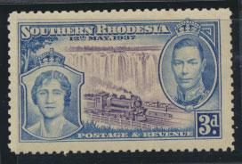 Southern Rhodesia SG 38 SC# 40 MLH see scan and details