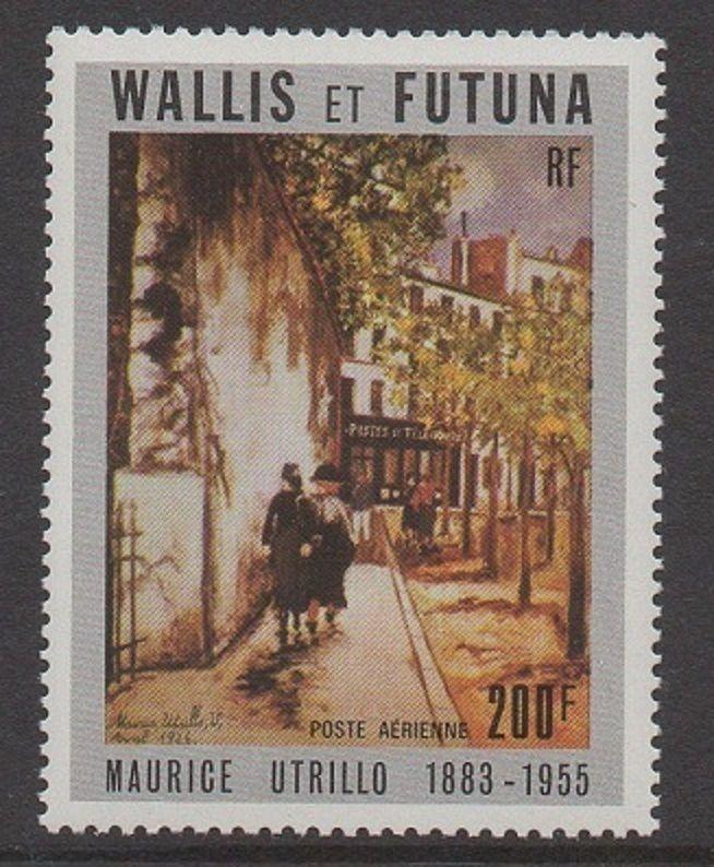 Wallis & Futuna 1985 Art Utrillo VF MNH (C141)