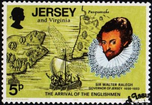 Jersey. 1976 5p S.G.160 Fine Used