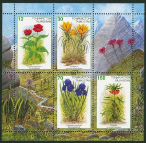 Tajikistan 1998 Scott #124a Mint Never Hinged