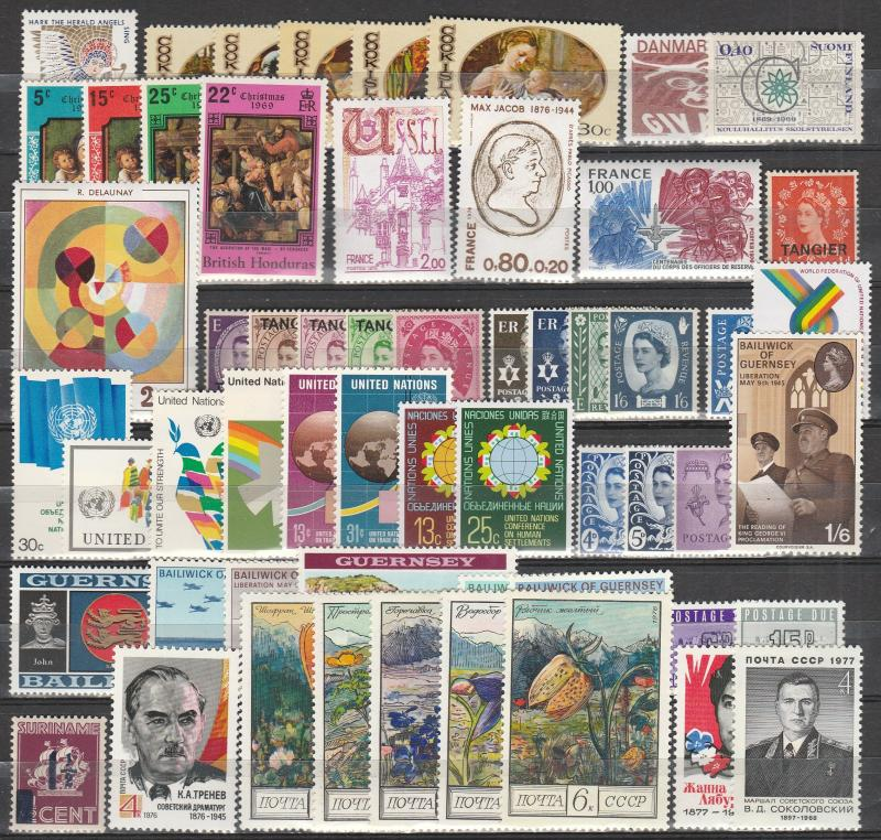 Worldwide Lot- Mint Never Hinged  (A5003)
