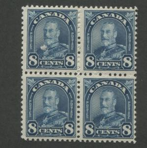 1930 Canada Postage Stamp #171 Mint Never Hinged F/VF Original Gum Block of 4